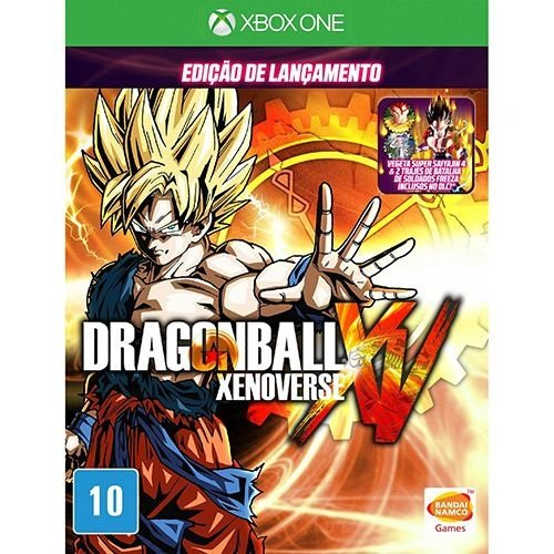 Dragon Ball Xenoverse - Xbox One - Nerd e Geek - Presentes Criativos