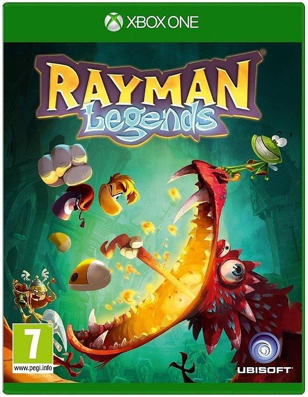 Rayman Legends - Xbox One - Nerd e Geek - Presentes Criativos