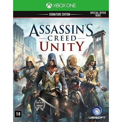 Assassin'S Creed Unity: Signature Edition - Xbox One - Nerd e Geek - Presentes Criativos