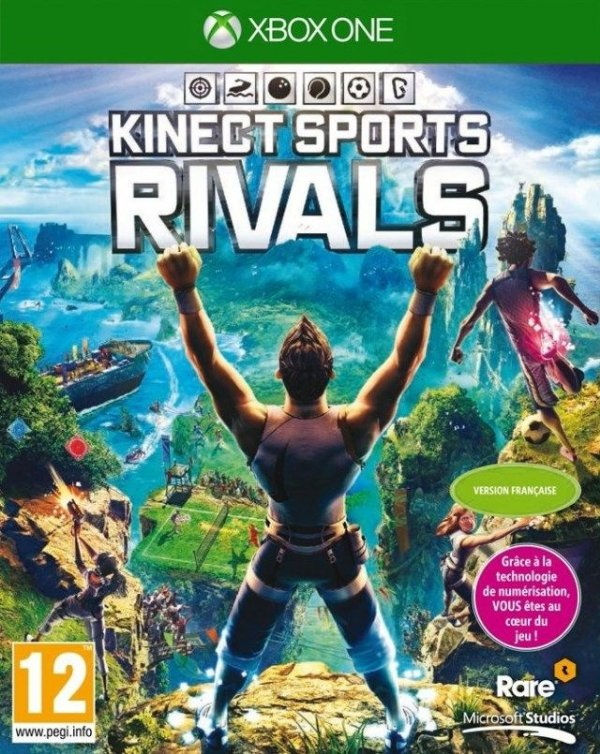 Kinect Sports Rivals - Xbox One - Nerd e Geek - Presentes Criativos