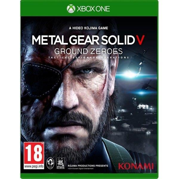 Metal Gear Solid V: Ground Zeroes - Xbox One - Nerd e Geek - Presentes Criativos