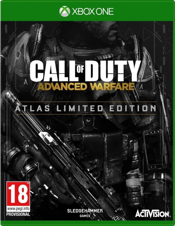 Call Of Duty: Advanced Warfare - Atlas Pro Edition - Xbox One - Nerd e Geek - Presentes Criativos