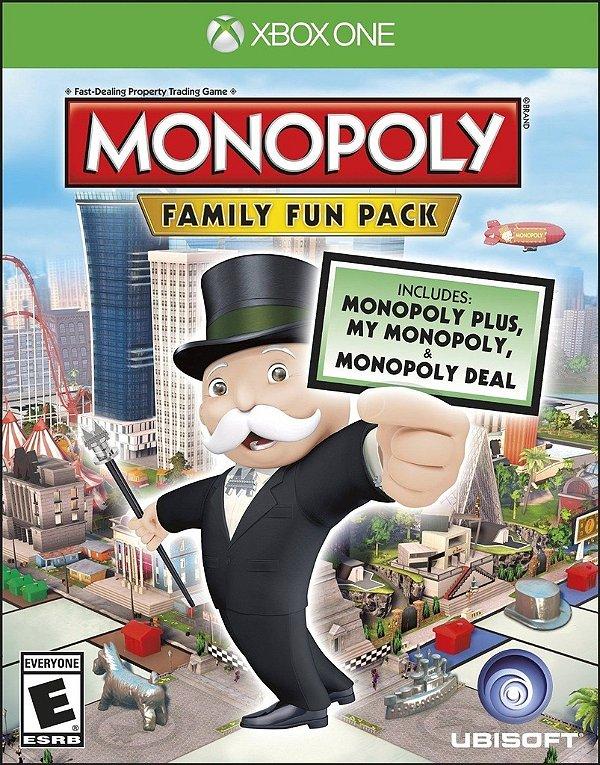 Monopoly Family Fun Pack - Xbox One - Nerd e Geek - Presentes Criativos