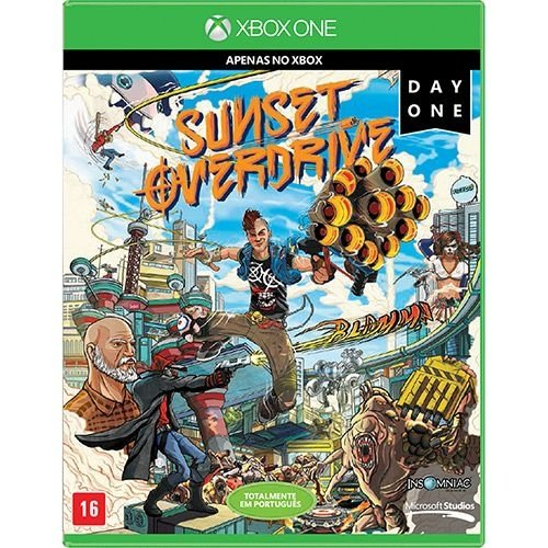 Sunset Overdrive (Day One Edition) - Xbox One - Nerd e Geek - Presentes Criativos