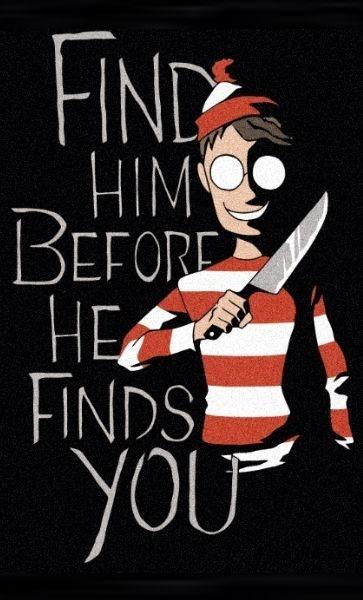 Camiseta Wally Find Him