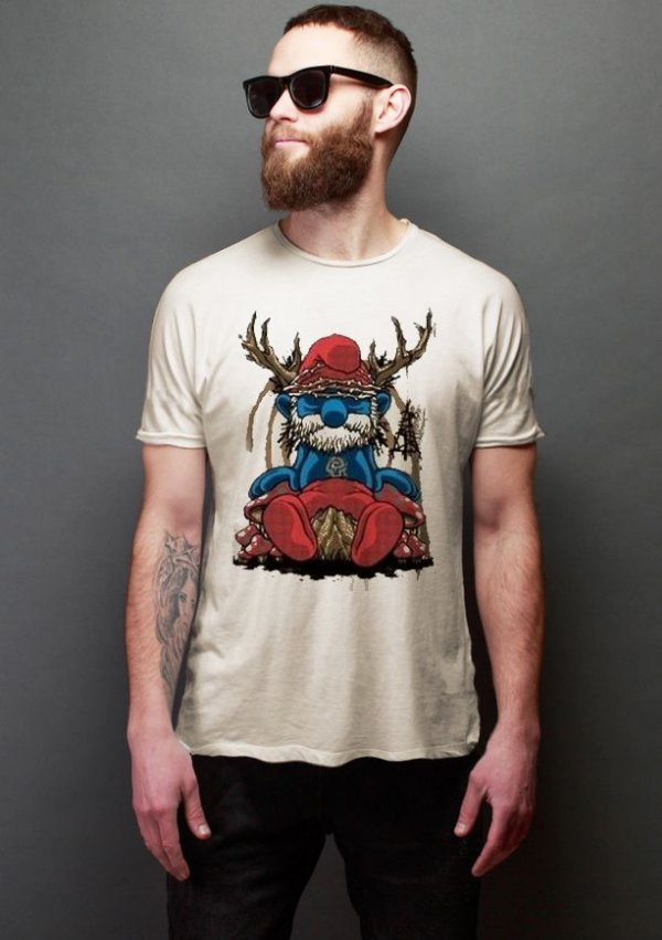 Camiseta Masculina  Smurf Is The Cruelest Animal - Nerd e Geek - Presentes Criativos