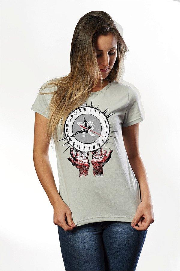 Camiseta Clock - Nerd e Geek - Presentes Criativos