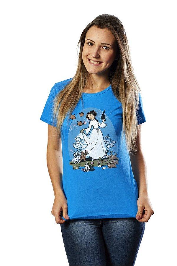 Camiseta  Star Wars: Princesa Leia