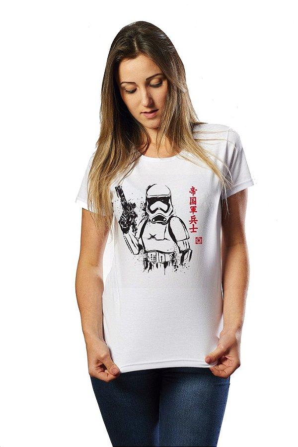 Camiseta Feminina Star Wars Stormtrooper