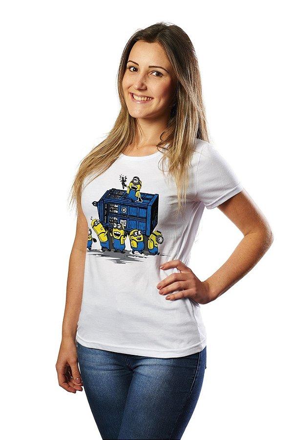 Camiseta Bananas Minions - Nerd e Geek - Presentes Criativos