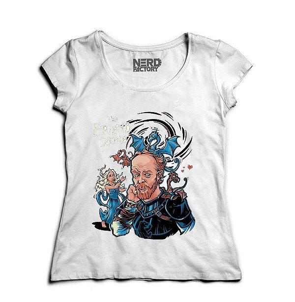 Camiseta The Friend Zone - Nerd e Geek - Presentes Criativos
