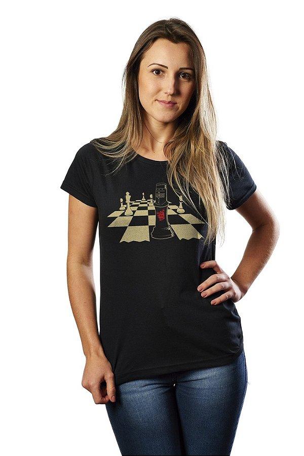 Camiseta Chess - Nerd e Geek - Presentes Criativos