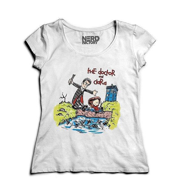 Camiseta The Doctor - Nerd e Geek - Presentes Criativos