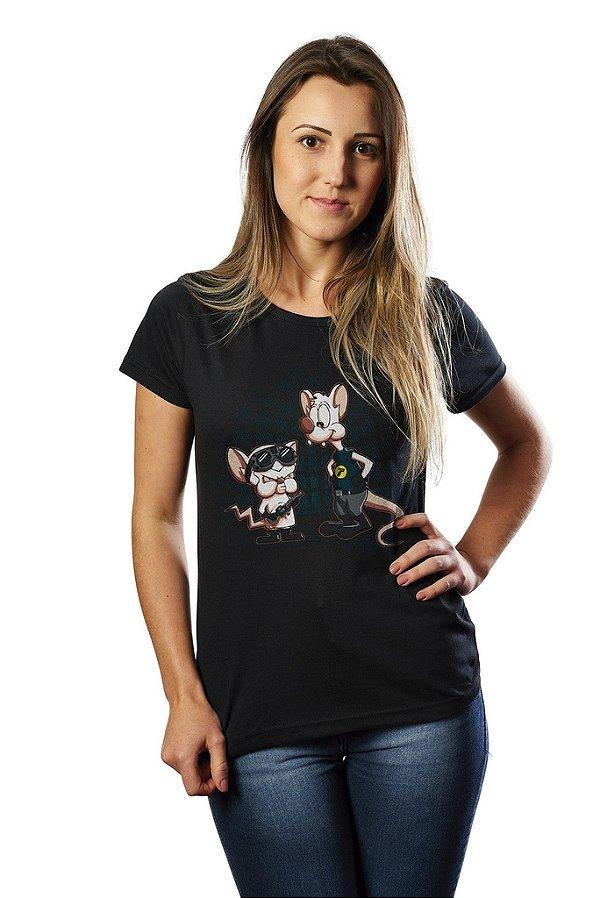 Camiseta Pinky And The Brain - Nerd e Geek - Presentes Criativos