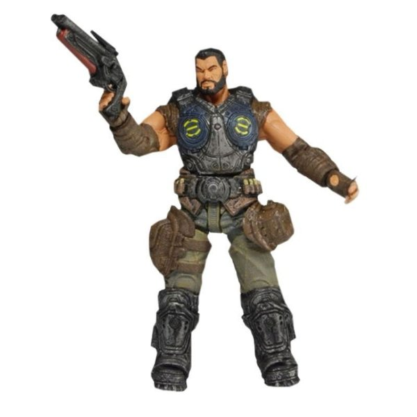 Neca - Dominic Santiago (Series 2) - Gears Of War 1/18 - Nerd e Geek - Presentes Criativos