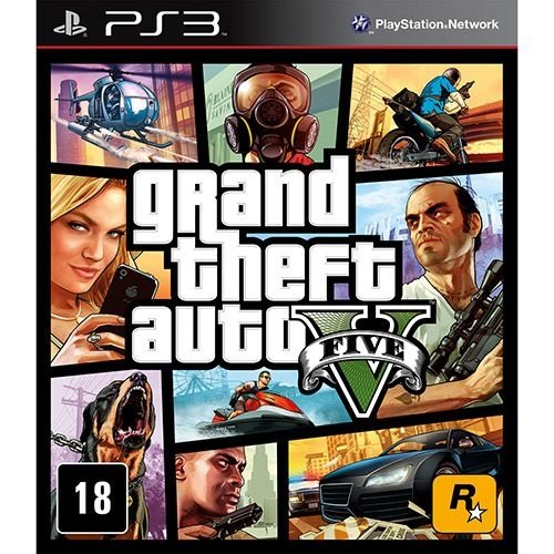 Grand Theft Auto V - Ps3 - Nerd e Geek - Presentes Criativos