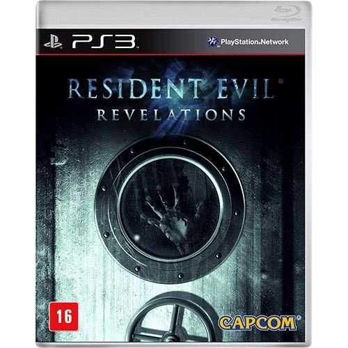 Resident Evil: Revelations - Ps3 - Nerd e Geek - Presentes Criativos