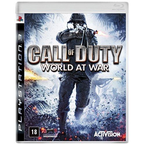 Call Of Duty World At War - Ps3 - Nerd e Geek - Presentes Criativos