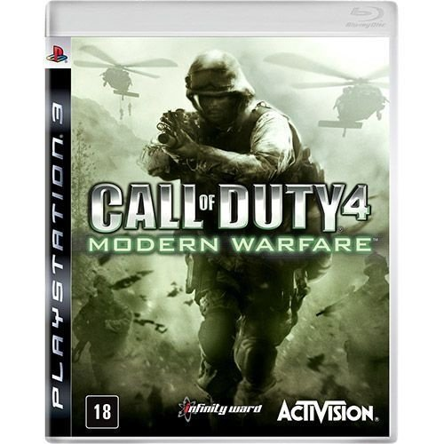 Call Of Duty Modern Warfare - Ps3 - Nerd e Geek - Presentes Criativos