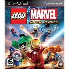 Lego Marvel Br - Ps3 - Nerd e Geek - Presentes Criativos