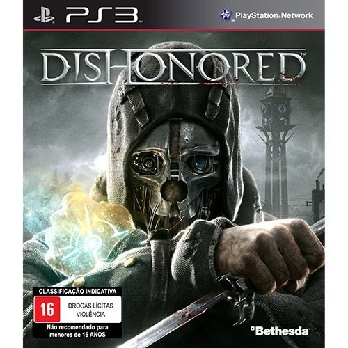 Dishonored - Ps3 - Nerd e Geek - Presentes Criativos