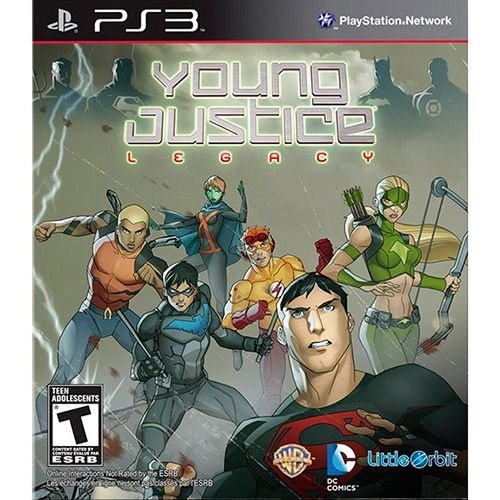 Young Justice - Legacy Maj - Ps3 - Nerd e Geek - Presentes Criativos