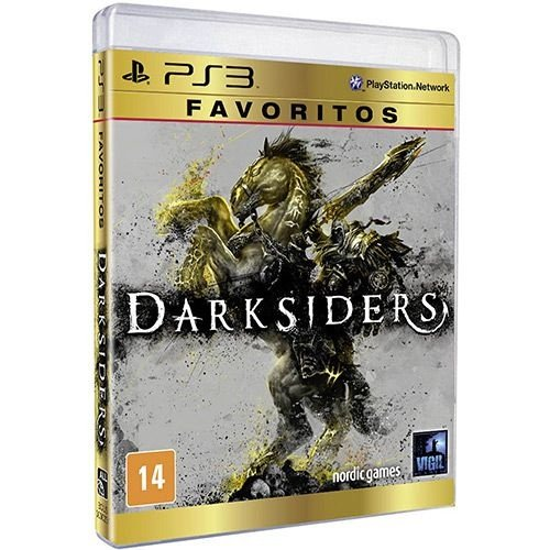 Darksiders: Favoritos - Ps3 - Nerd e Geek - Presentes Criativos