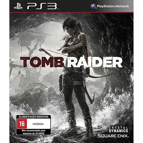 Tomb Raider - Ps3 - Nerd e Geek - Presentes Criativos