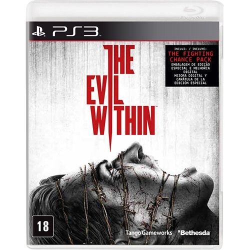 The Evil Within - Ps3 - Nerd e Geek - Presentes Criativos