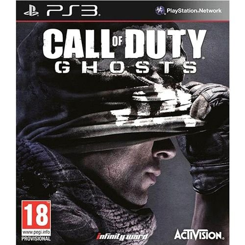 Call Of Duty: Ghosts - Ps3 - Nerd e Geek - Presentes Criativos