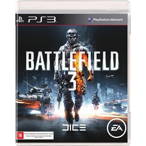 Battlefield 3 - Ps3 - Nerd e Geek - Presentes Criativos