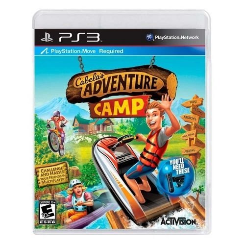 Adventure Camp - Ps3 - Nerd e Geek - Presentes Criativos