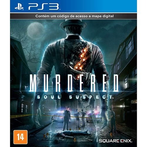 Murdered: Soul Suspect - Ps3 - Nerd e Geek - Presentes Criativos