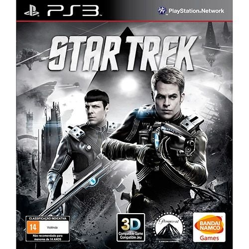 Star Trek - Ps3 - Nerd e Geek - Presentes Criativos