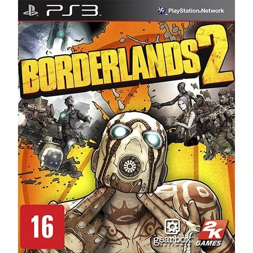 Borderlands 2 - Ps3 - Nerd e Geek - Presentes Criativos