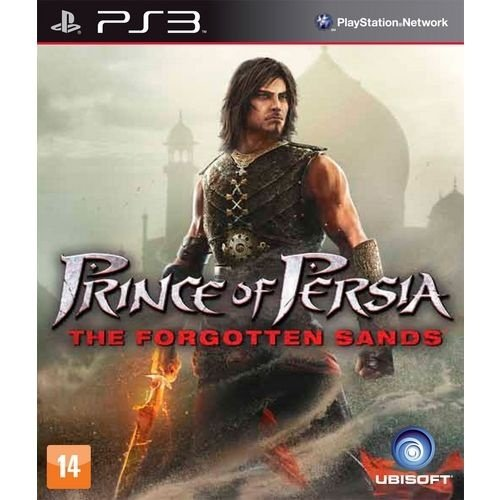 Prince Of Persia: The Forgotten Sands - Ps3 - Nerd e Geek - Presentes Criativos