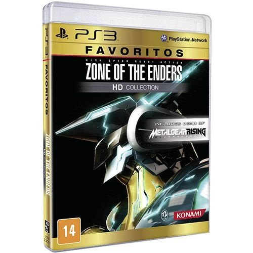 Zone Of The Enders - Hd Collection: Favoritos - Ps3 - Nerd e Geek - Presentes Criativos