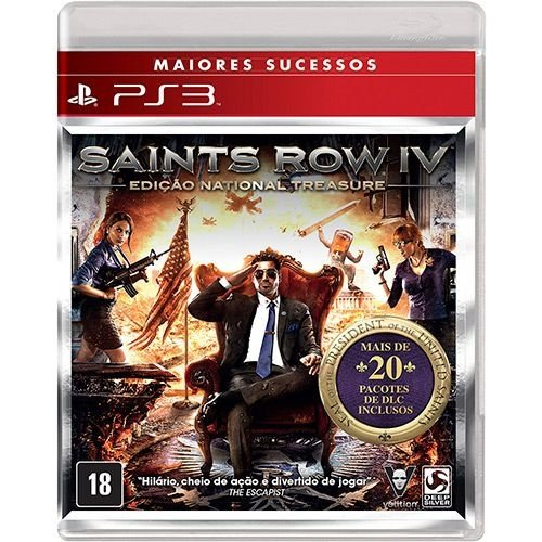 Saints Row Iv - Ps3 - Nerd e Geek - Presentes Criativos