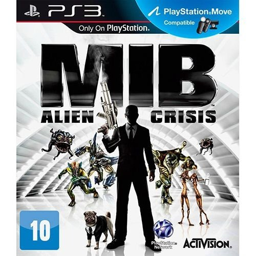 Men In Black: Alien Crisis - Ps3 - Nerd e Geek - Presentes Criativos