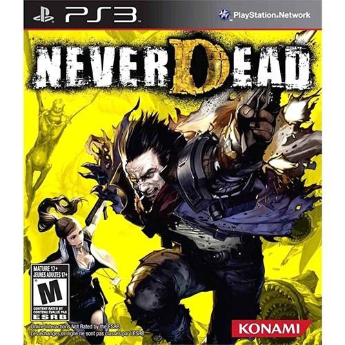 Never Dead Ps3 - Nerd e Geek - Presentes Criativos