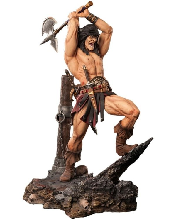 Conan - 1/4 - Statue - Arh Studios - Nerd e Geek - Presentes Criativos