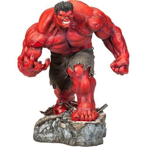 Estátua Red Hulk Premium Format - Sideshow Collectibles