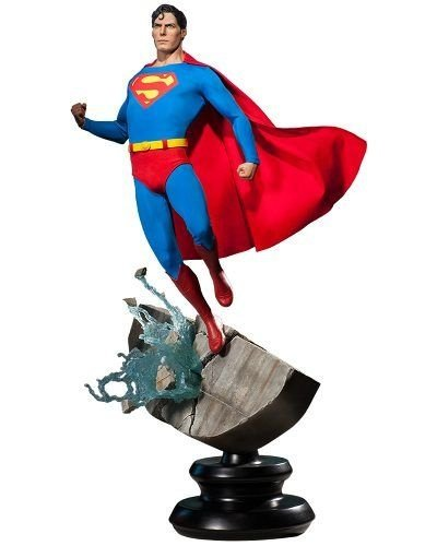 Superman 1978 (Christopher Reeve) Premium Format - Sideshow - Nerd e Geek - Presentes Criativos