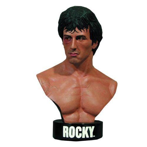 Rocky Life-Size Bust - Hollywood Collectibles 1:1 - Nerd e Geek - Presentes Criativos