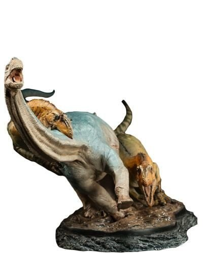 Allosaurus Vs Camarasaurus - Sideshow Collectibles - Nerd e Geek - Presentes Criativos