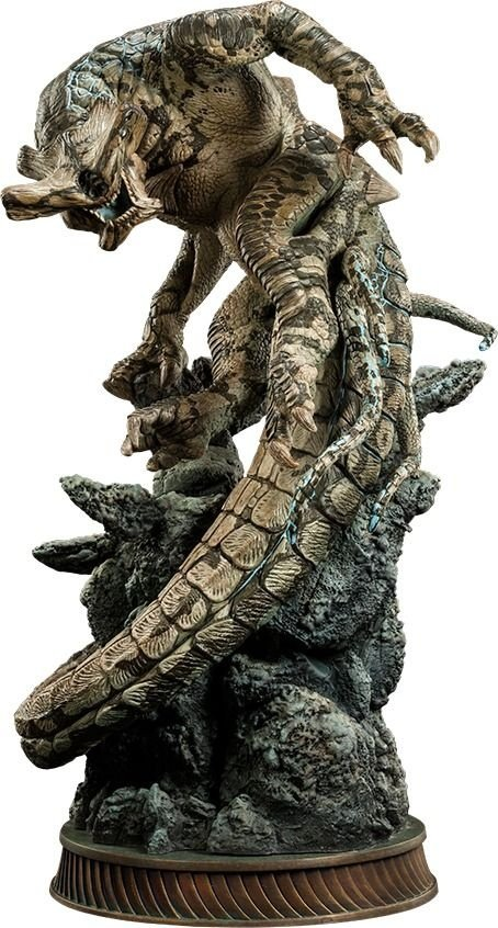 Slattern Statue - Pacific Rim - Sideshow Collectibles 58Cm - Nerd e Geek - Presentes Criativos