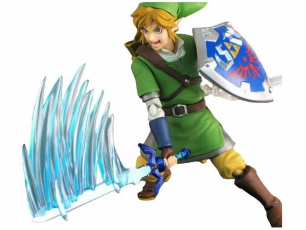 Action Figure Legend Of Zelda Link Figma 153 - Nerd e Geek - Presentes Criativos