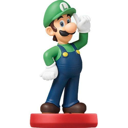 Luigi Amiibo Figure Super Mario Series Nin