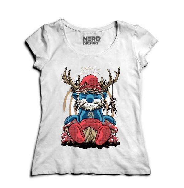 Camiseta Smurf Is The Cruelest Animal - Nerd e Geek - Presentes Criativos