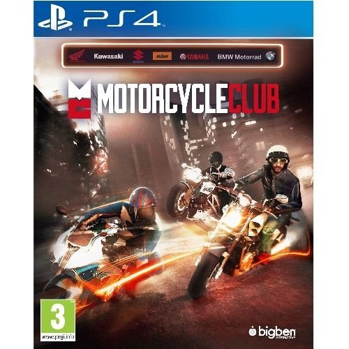 Ps4 - Motorcycle Club - Nerd e Geek - Presentes Criativos